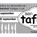 Restaurantdagen 15 en 16 september