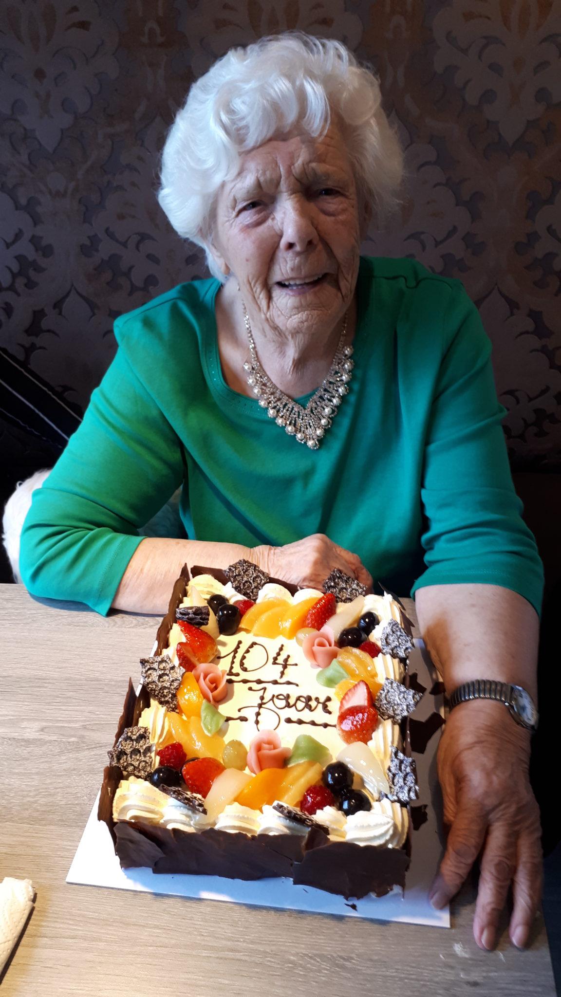 Leonie 104 jaar