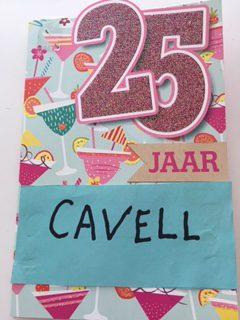 Foto's 25 jaar bestaan Cavell