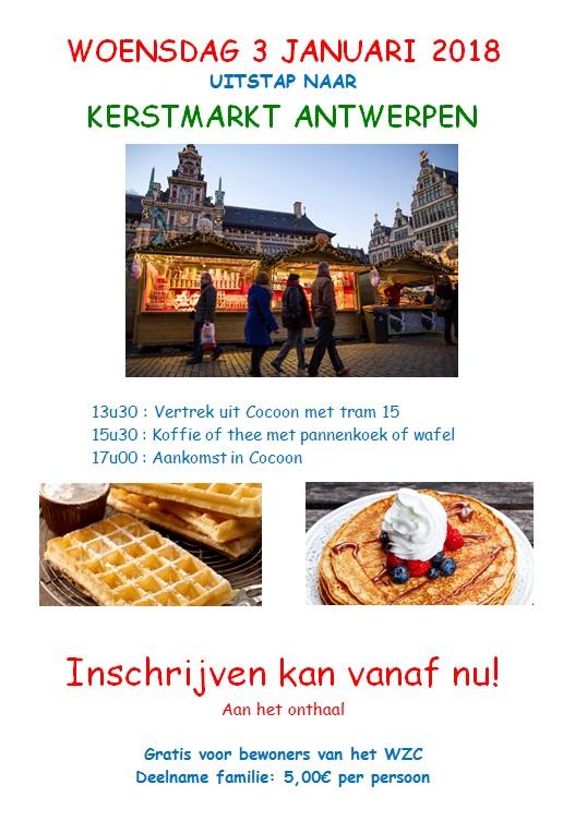 Bezoek Kerstmarkt Antwerpen Wzc Cocoon