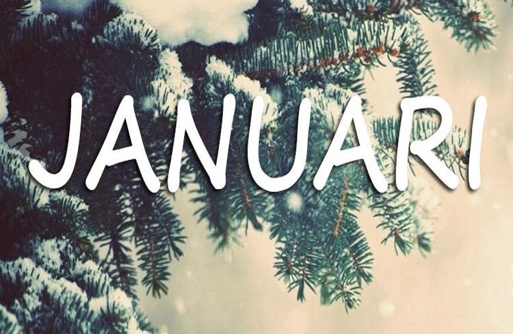 Evenementenprogramma Januari