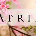 Evenementenkalender april 2018