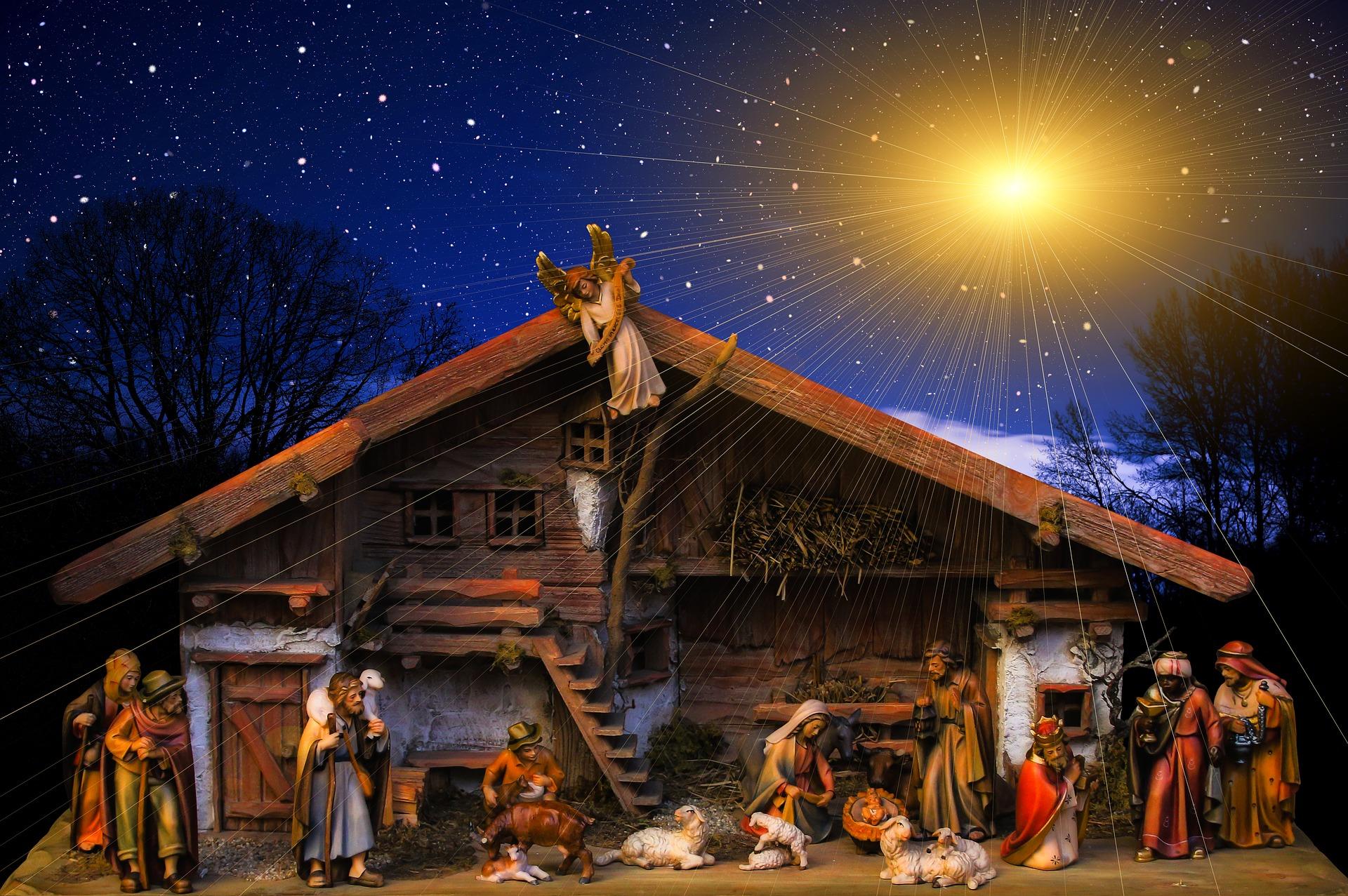 Bezoek aan de Internationale kerststallententoonstelling in Berchem