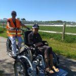Op fietstocht met onze bewoners