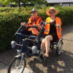 Duofiets en rolstoelfiets