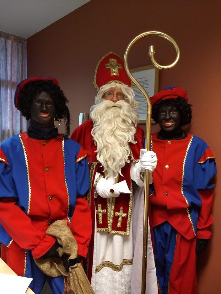Sinterklaas op bezoek!