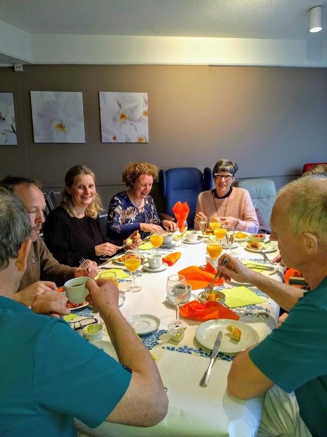 Ontbijtbuffet voor 25 jaar Czagani
