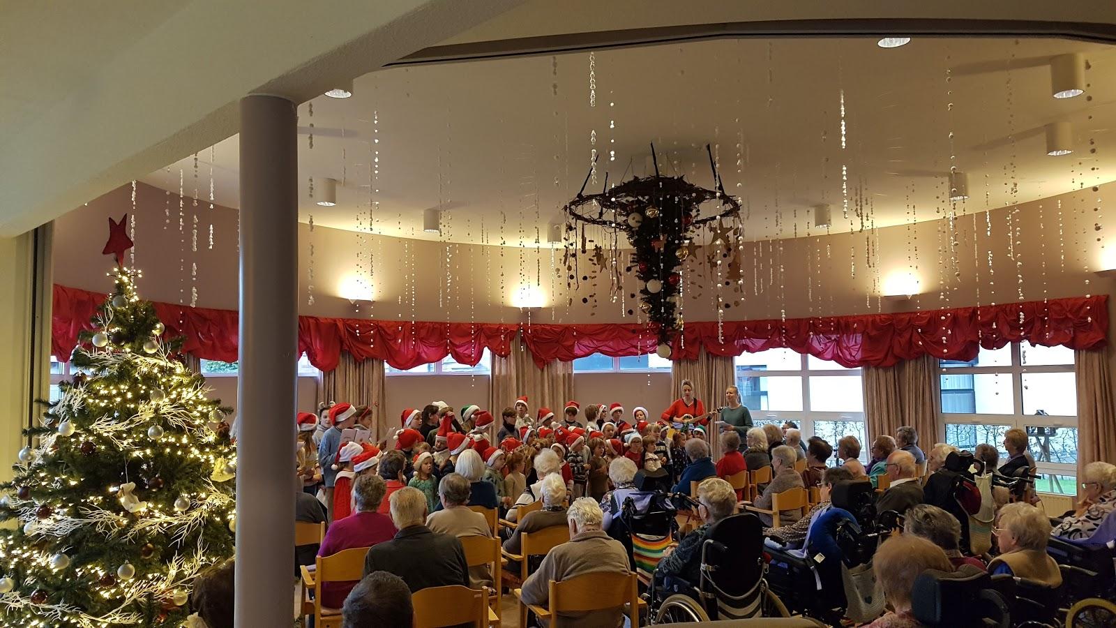 Kerstoptreden lagere school Vremde
