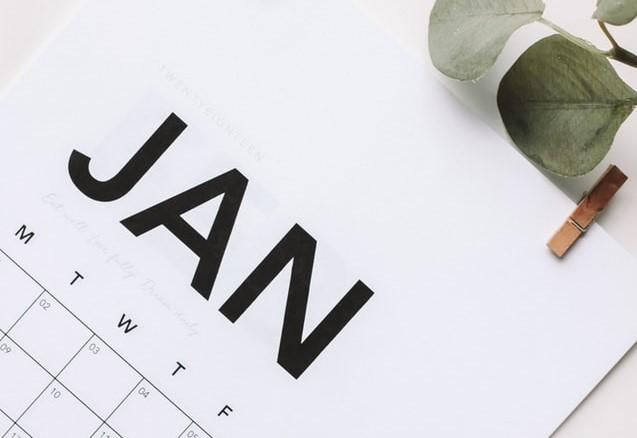 Activiteitenprogramma januari 2020