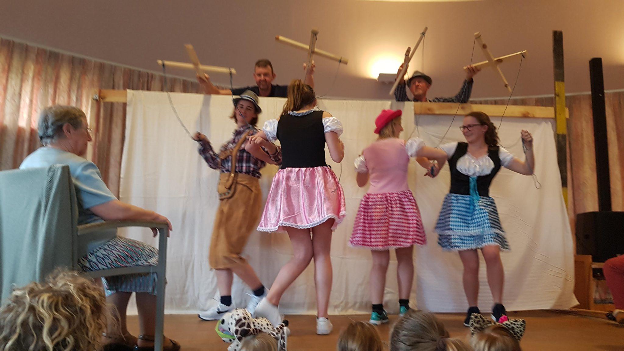 Carnaval in huis