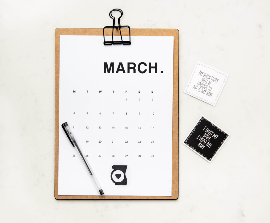 Activiteitenprogramma maart 2020
