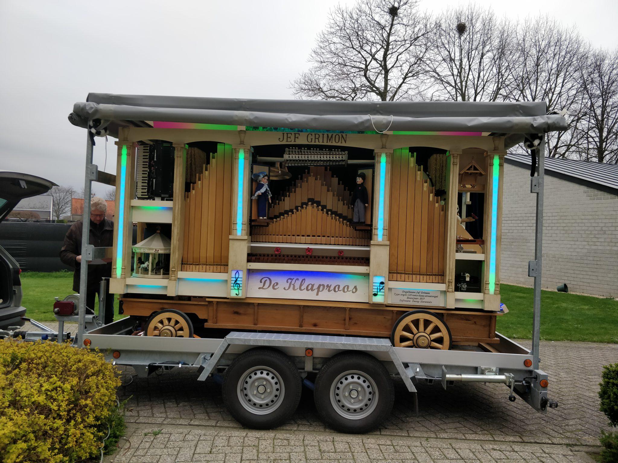 Orgelmuziek Jef Grimon