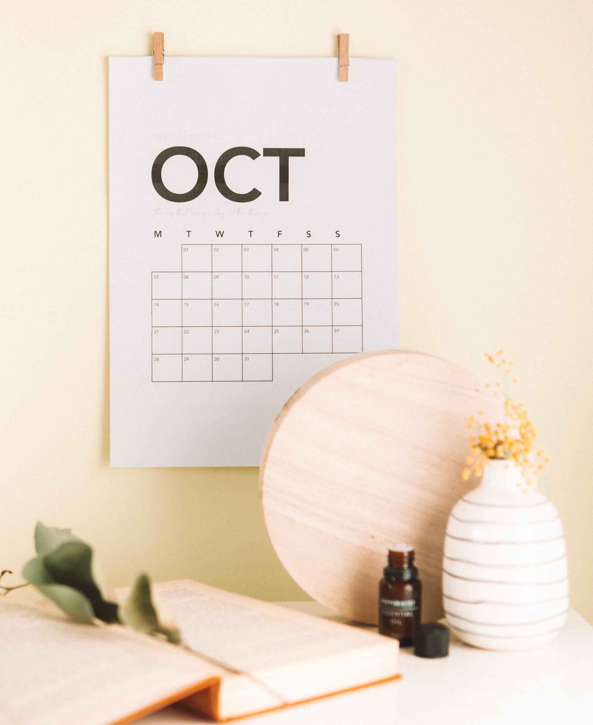Activiteitenprogramma oktober 2020